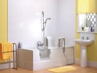 badewolke liegewannen mit t r begehbare badewanne badewolke. Black Bedroom Furniture Sets. Home Design Ideas